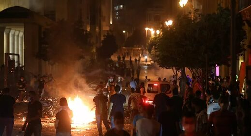 protests Beirut