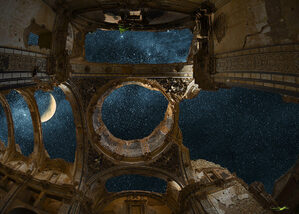 Belchite Night