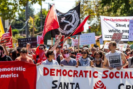 socialist protesters berkley