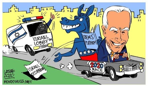 biden israel occupation policy democrats