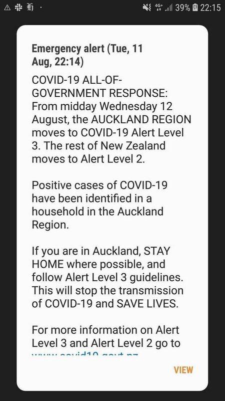 Auckland shutdown