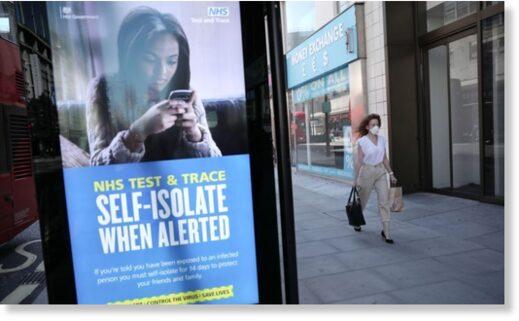 self isolate billboard