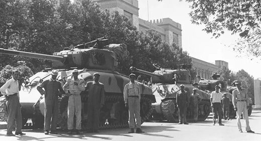 Iran coup 1953 military