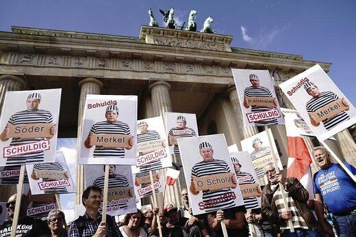 berlin protest lockdown