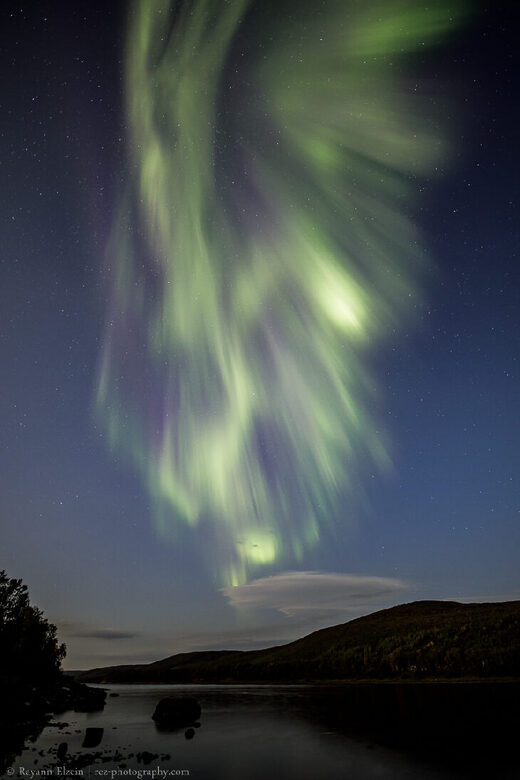 'Corona' auroras taken on September 4, 2020 @ Utsjoki, Finnish Lapland