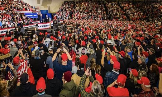 trump rally new jersey january 2020