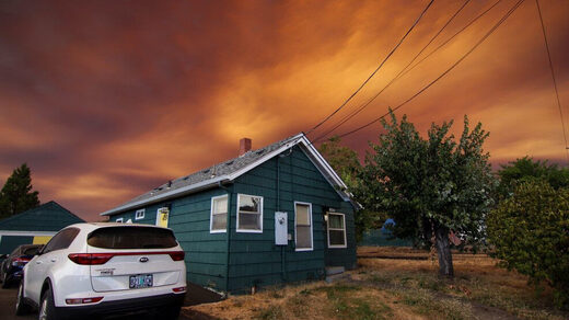Wildfires prompt evacuations across Oregon and SW Washington - over 2.5 million acres burnt in former