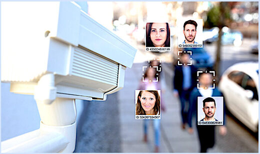 Facial recognition cam