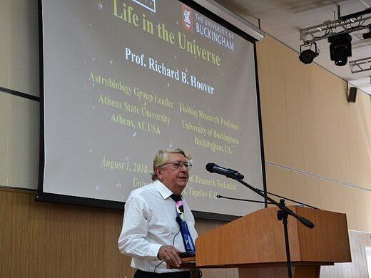 Richard B. Hoover astrobiologist