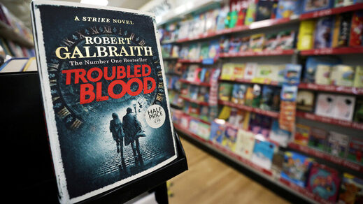 rowling book mystery Troubled blood transvestite