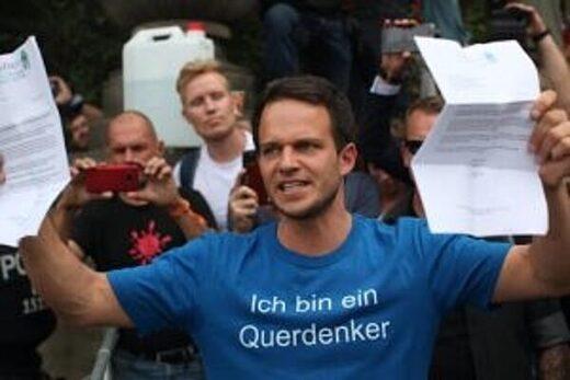 Markus Hainz, a lawyer childrens health defense  Querdenken