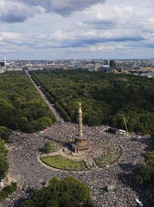 berlin kennedy jr covid protest