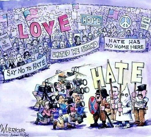 cartoon satire berlin protest covid kennedy