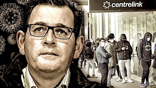 guy, line of people centrelink