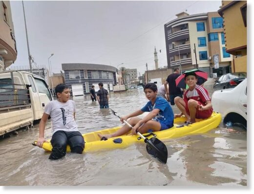 Floods in Misrata, Libya