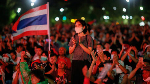 Thailand 2020 anti government protests 1