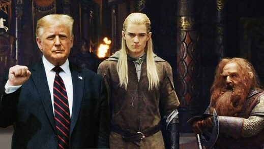 trump elves dwarves