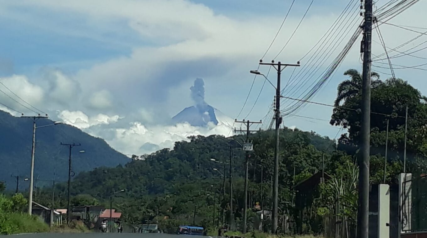 Ecuador's Sangay Volcano sees uptick in activity with blasts, ash emissions