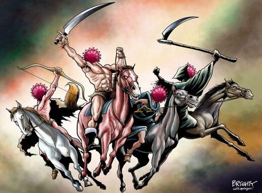 four horsemen coronavirus