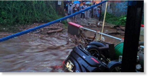 Floods in Sukabumi, West Java, Indonesia 21 September 2020.