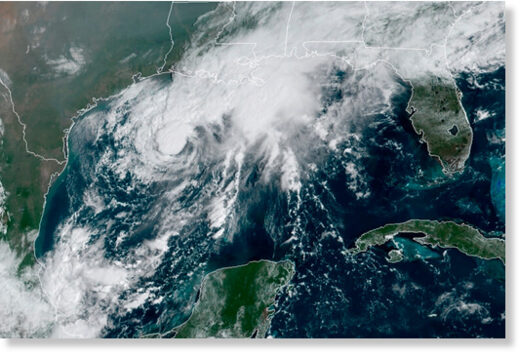 Beta weakens to tropical depression