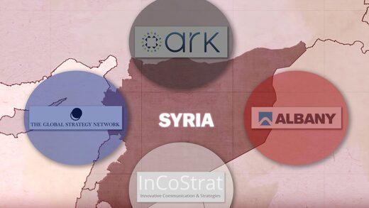 Western anti-Syria propaganda network