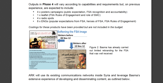 ARK anti-syria propaganda