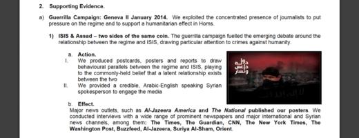 ARK propaganda war against Syria