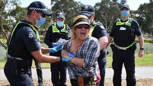 Australia Covid totalitarianism