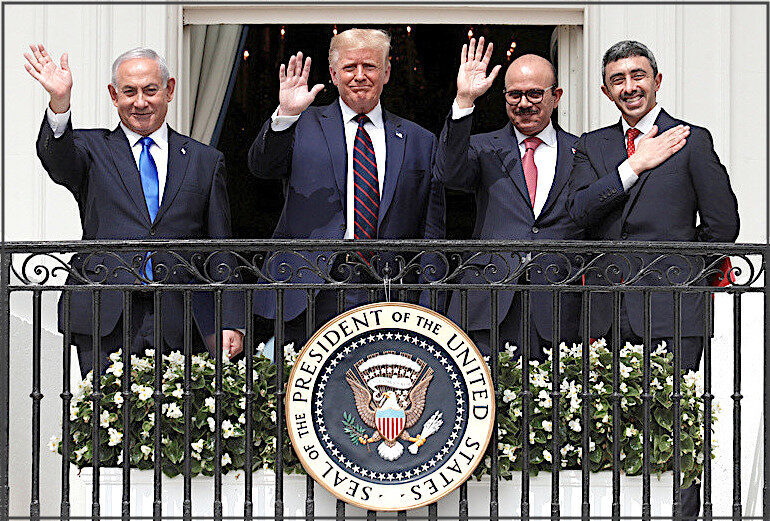 I'm no fan of Trump, but his peace deals in the Middle East are a diplomatic triumph...why is MSM virtually ignoring them? -- Puppet Masters -- Sott.net