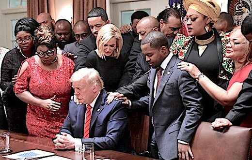 Trump prayer Black leaders