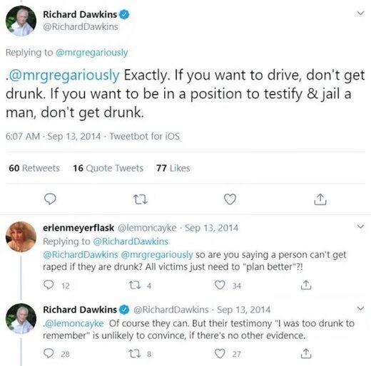 Richard Dawkins tweet