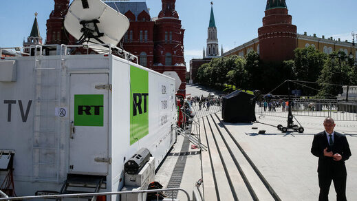 RT news moscow