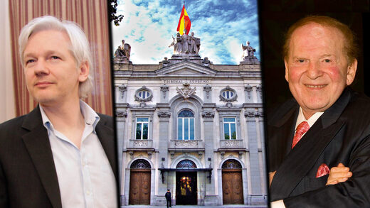 assange adelson spanish trial spying