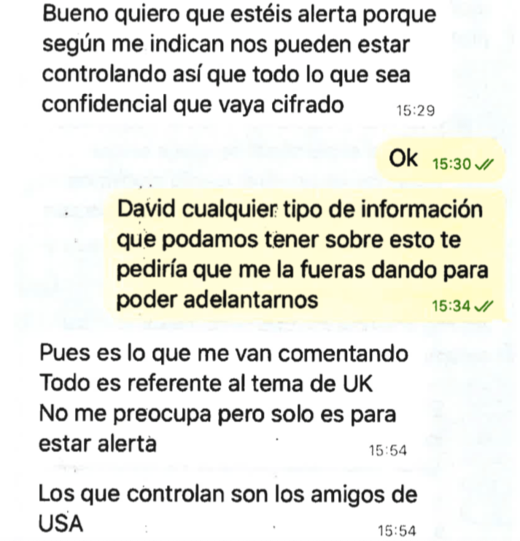 text morales assange spying cia las vegas