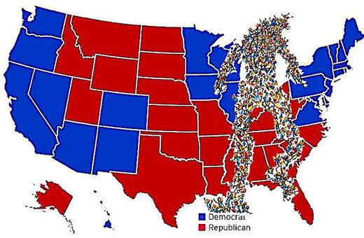 Presidential Poll and Map
