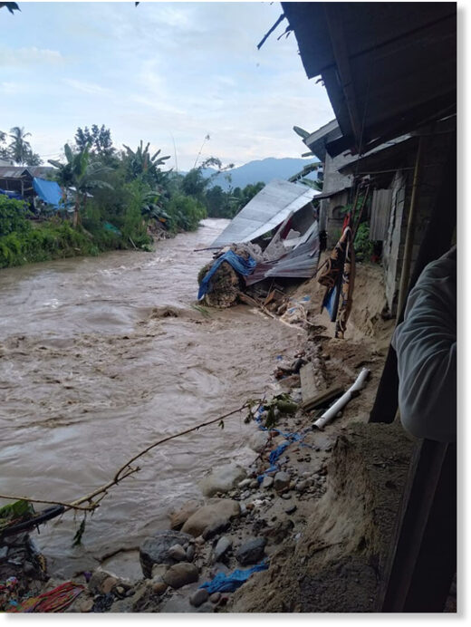 Floods in Parigi Moutong Regency, Central Sulawesi Province, Indonesia, October 2020.