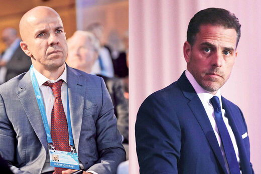 Vadym Pozharskyi and Hunter Biden
