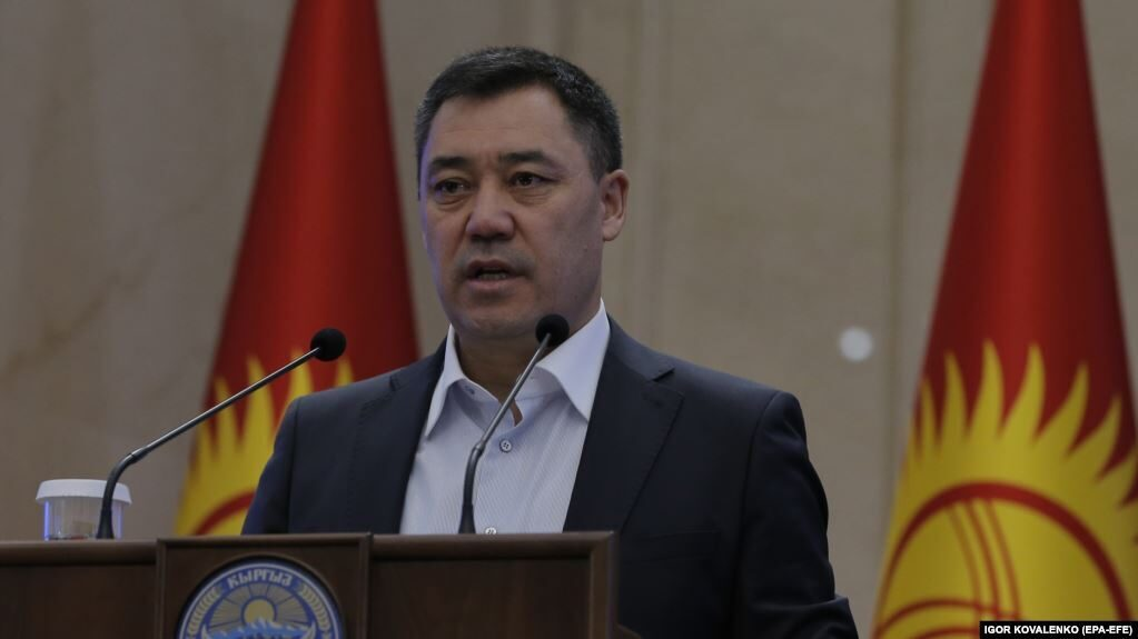 Kyrgyz Parliament Gives Newly Elected PM Japarov Presidential Powers