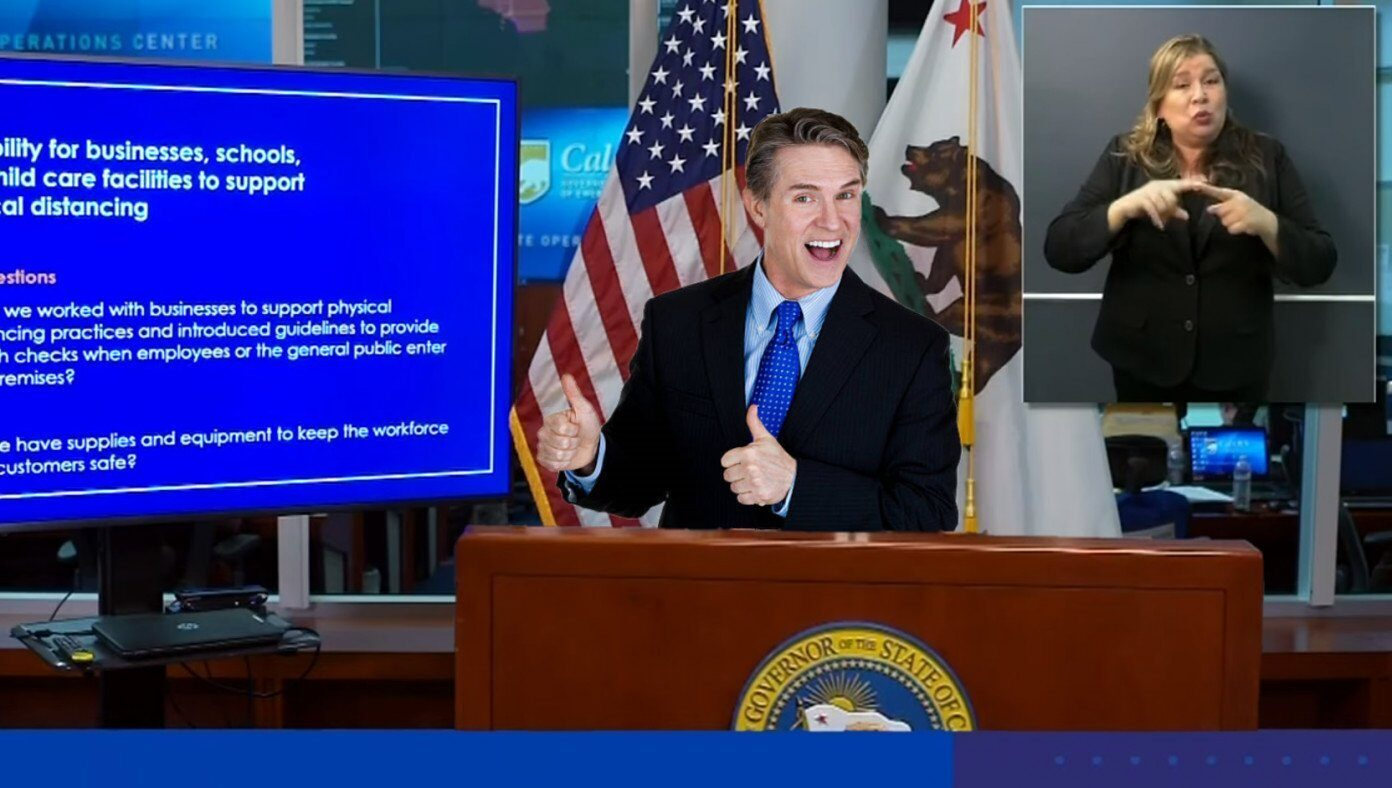 Governor unveils innovative 37-step plan to reopen state over the next 10 years