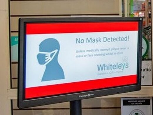 CCTV mask detection