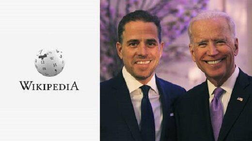 Wikpedia and Bidens