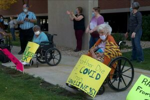 nursing home protest ohio