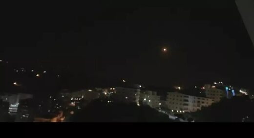missile attack damascus