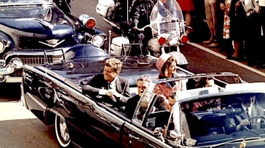 JFK, Jacqueline K, Connally and wife