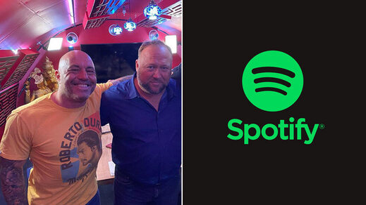 joe rogan alex jones spotify