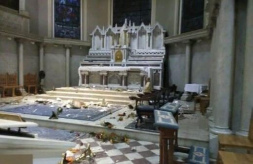 Saint Martin of Tours Church vandalized