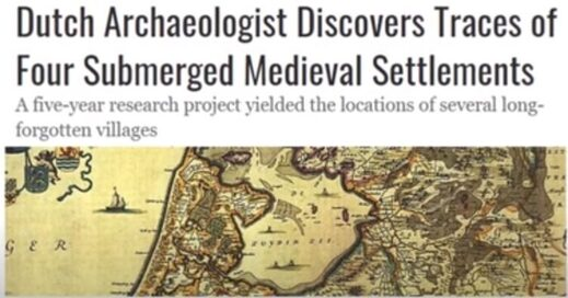Submerged Medieval Settlements Netherlands