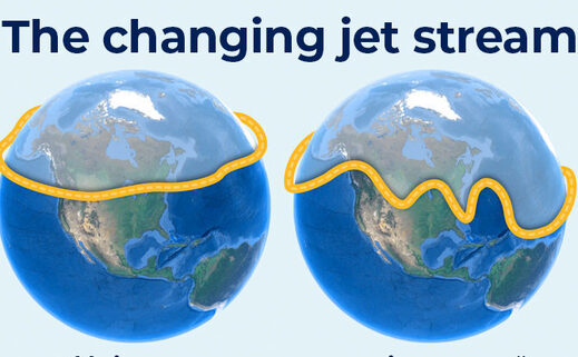 the changing jet stream