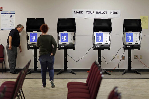 Georgia voting machines